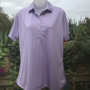 Nike - NWOT Golf Performance purple shirt, Size XL